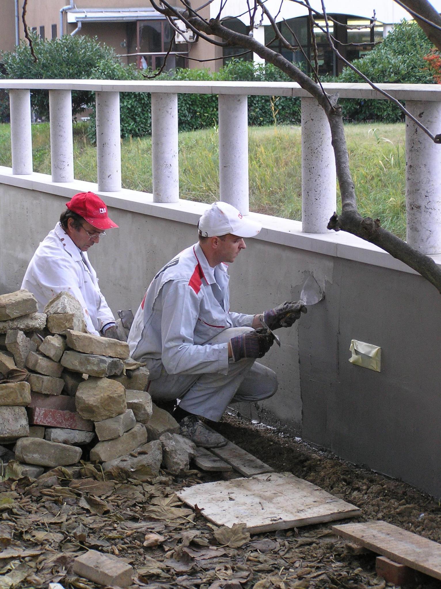 impermeabilizzazione muri di sostegno